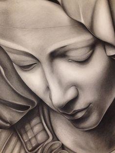 Pietà di Michelangelo - FINAL CLOSE UP