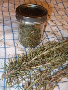 Home drying fresh rosemary.  Set your oven at 200 F set your sprigs of rosemary on the rack single layer and bake for 20 minutes.  when dried store in a clean and dry canning jar.