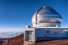 The Gemini Observatory at the summit of Mauna Kea, Hawaii.