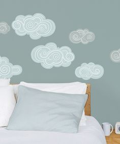 Clouds Wall Decal Set