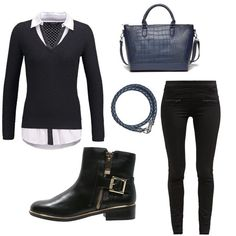 OneOutfitPerDay 2015-10-10 - #ootd #outfit #fashion #oneoutfitperday #fashionblogger #fashionbloggerde #frauenoutfit #herbstoutfit - Frauen Outfit Frühlings Outfit Herbst Outfit Outfit des Tages Aldo Bruè fredbennett MbyM Morgan Top Secret