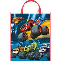 Blaze Party Supplies, Blaze and Monster Machines Tote Bags, Favors