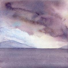 After the storm  Seascape by Sandra Ovono