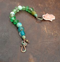 Hey, I found this really awesome Etsy listing at https://www.etsy.com/listing/237537171/verdigris-and-other-greens-big-beaded