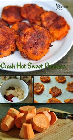 Easy and incredibly delicious - Crash Hot Sweet Potatoes on the The Creekside Cook