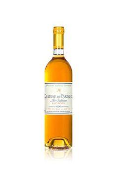 6 bouteilles de château de Fargues, 1996
