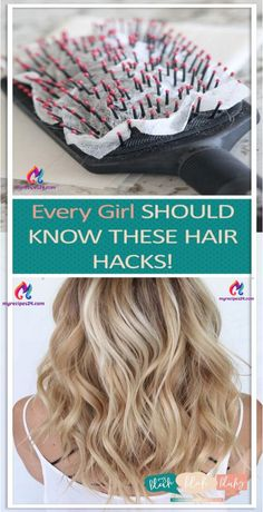 Every Girl Should Know These Hair Hacks! – Pin Club - - Every Girl Should Know These Hair Hacks! – Pin Club Every Girl Should Know These Hair Hacks! – Pin Club Every Girl Should Know These Hair Hacks! Beauty Care, Hair Beauty, Beauty Hacks For Hair, Beauty Skin, Life Hacks Hair, Beauty Life Hacks, Beauty Makeup, Beauty Hacks For Teens, Corte Y Color