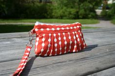 Red Dot Handmade Purse