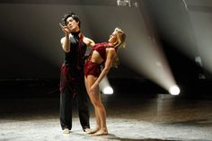 """Top 14 contestants Lindsay Arnold and Cole Horibe perform a Contemporary routine to """"Gravity"""" choreographed by Mia Michaels on SO YOU THINK YOU CAN DANCE."""