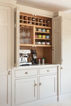 24 Ideas Kitchen Pantry Cupboard Wine Racks For 2019 Farm Kitchen Ideas, Family Kitchen, New Kitchen, Kitchen Decor, 1920s Kitchen, Cheap Kitchen, Kitchen Modern, Christmas Kitchen, Kitchen Pantry Cupboard