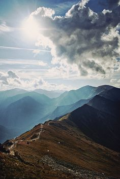 Tatras by Paweł Jusyn, via Flickr