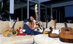 """""""I love vintage, especially guitars. The folks from Fender asked me if I wanted to build my own signature model. I was really honoured but I refused this offer. These old guitars and their parts are perfect, as far as I'm concerned I couldn't have improved that."""" (John Frusciante)"""