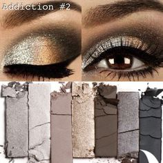 Younique can give you this look! This is Younique Addiction Palette #2! It costs $59 CAD! It not only makes your eyes pop, but Younique has all naturally based cosmetics! It's amazing! :)