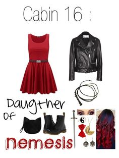 Daugther of Nemesis Godness of justice and the balance Hades Percy Jackson, Percy Jackson Outfits, Girls Fashion Clothes, Girl Fashion, Fashion Looks, Fashion Outfits, Camp Half Blood Cabins, Aesthetic Grunge Outfit, Fandom Outfits