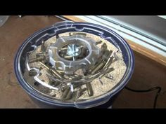 The vibratory tumbler I purchased for a steampunk project failed after the first…