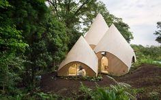 Habitat : Des tipis ultra-design et écologiques pour des maisons de retraite