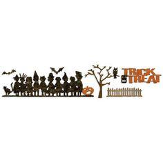 Sizzix Sizzlits Decorative Strip Die By Tim Holtz Halloween Shadows