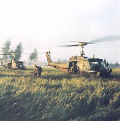 UH-1s in Vietnam