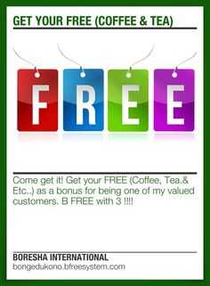 GET YOUR FREE (COFFEE