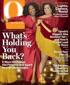 O Magazine Cover, October 2011