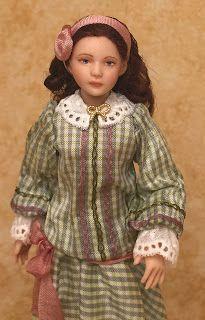 Lilli's Littles Miniature Dollhouse Dolls