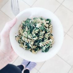 Post workout lunch - cheesy spinach pasta  mmmmmm #slimmingworld #blogginggals #foodblogger #foodporn #healthy #healthyfood blogger bbloggers katielewla blogginggals beautyblogger
