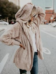 Gorgeous Street Style Coat 2018 Trends Ideas 03