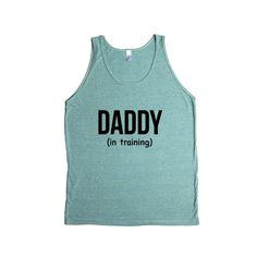 Daddy In Training Dad Dads Father Fathers Grandparents Grandfather Children Kids Parent Parents Parenting SGAL8 Men's Tank