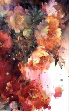 Watercolor, Yuko Nagayama #watercolor jd
