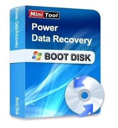 MiniTool Power Data Recovery Boot Disk v6.8