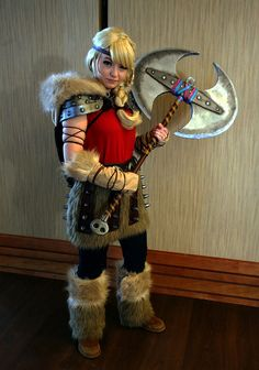 Astrid, from the American CGI movie How to Train Your Dragon 2