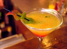 Mango Mint Martini recipe