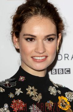 """Lily James and James Norton at the BBC's """"War & Peace"""" TV Series ..."""