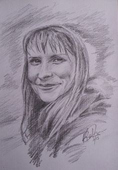 Ruth - my beautiful wife, quick sketch from recent photograph, just wanted to go for a looser style