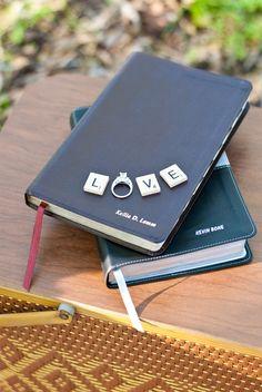 Bible Ring Engagement photo :)