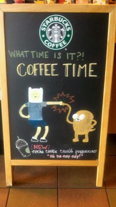 Its coffee time!