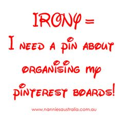 Pinterest Tip | Organizing Pinterest boards is my specialty, except, of couse, leaving new boards on the bottom for too long.