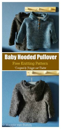 baby pullover The Baby Hooded Pullover Free Knitting Pattern is a great way to keep your little one nice and warm. Its an easy pattern and a fast knit. Free Baby Sweater Knitting Patterns, Knit Baby Sweaters, Free Knitting, Knit Baby Patterns, Free Childrens Knitting Patterns, Beginner Knitting, Finger Knitting, Scarf Patterns, Knitting Machine