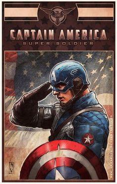 Captain America by Admira Wijaya *
