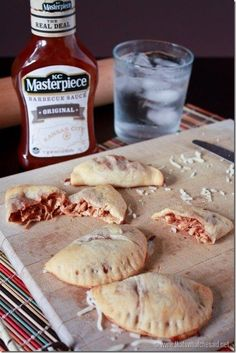 BBQ Chicken Empanadas | 29 Insanely Delicious Things You Can Make With Crescent Roll Dough