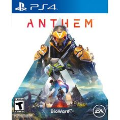 Anthem Online Co-op RPG Adventure Battle Strategy Game Sony Playstation 4 Grand Theft Auto, Nintendo Game, Xbox One Games, Ps4 Games, Nintendo Switch, Last Of Us, Game Boy, Zulu, Gta 5