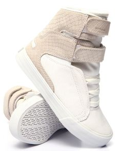 Find Society II Faux Snakeskin-embossed Suede High Top Women's Footwear from Supra & more at DrJays. on Drjays.com