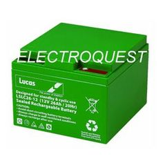 Bestsellers week  Our bestselling Golf Battery is the Lucas LSLC26-12G for only £48.10  https://electroquestuk.com/lucas-26ah-golf-battery-lslc26-12g.html