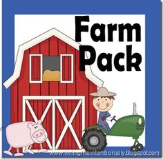 farm pack - such cute printables...would be fun to do in conjunction with trip to deanna rose