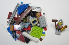50+ LEGO Pieces With Custom Minifigure Soldier Washed and Sanitized NEW (WF12)