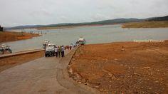Ferry ride in Saravathi river from Sagar to Sigandur. For more details visit http://www.sanjeevinihomestay.com #travel #Sigandur #accommodation #Sagar #stay #Karnataka