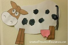 Farm Animal Crafts | Big Ideas for Little Learners: Cows and Sheep