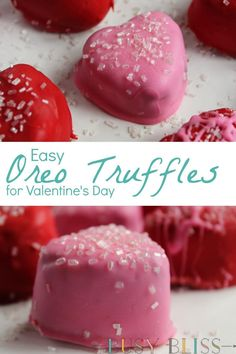A super easy recipe for no-bake oreo cookie truffles with just 3 ingredients! Use a silicone mold to make them into fun shapes.