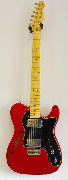 Fender CS 1972 Telecaster Thinline CAR MB Dale Wilson