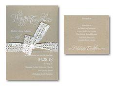 Happy Together #Wedding #Invitation